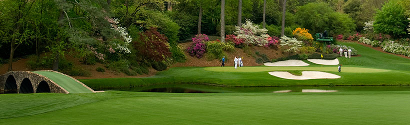 Golden Bell, Hole #12 at Augusta National